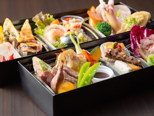 お弁当と室料がセット【レバントセット「雪・月・花」】新生活様式応援!~ 会議の後のご宴会に。