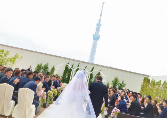 【挙式+披露宴30名~プラン】東京スカイツリー®オフィシャルホテルで叶えるウェディング