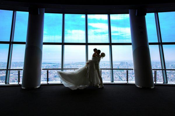【東京スカイツリー®フォトプラン】天望回廊も貸し切りのウェディングフォト
