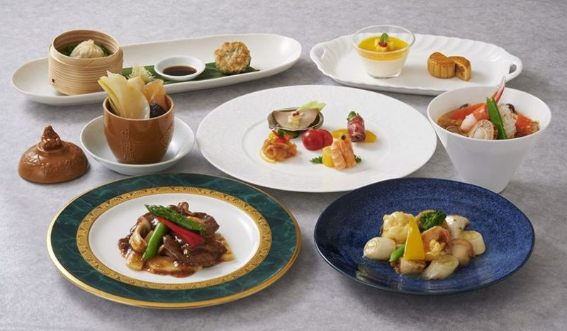 【中国料理 竹園】ランチコース「楊貴妃」のご案内