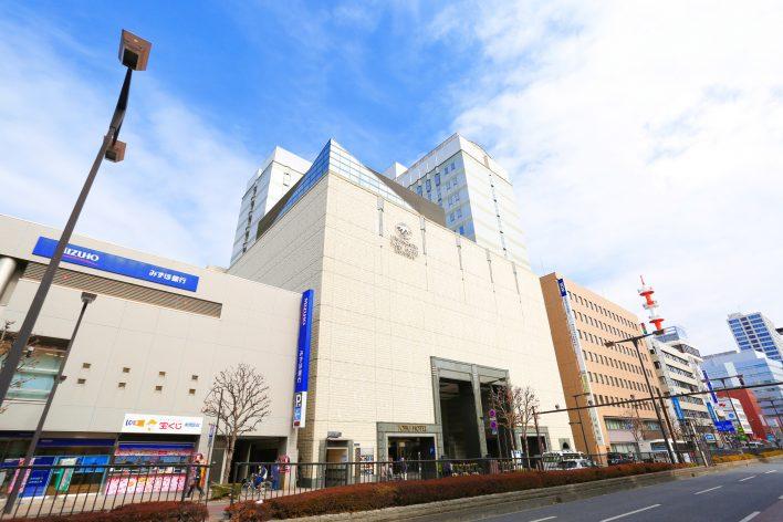 外観宇都宮東武ホテルグランデ