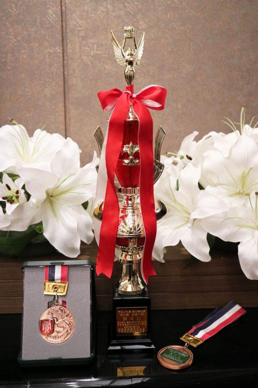 令和2年度 消火競技会第4位入賞